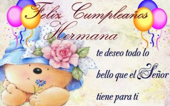 Tarjetas De Feliz Cumpleaños Para Una Hermana Dulce