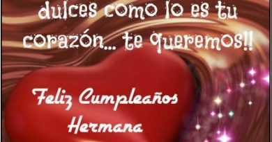 Tarjetas De Feliz Cumpleaños Para Una Hermana bondadosa