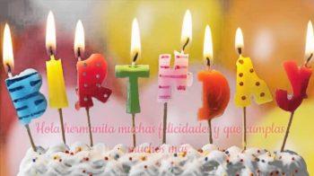 Tarjetas De Feliz Cumpleaños Para Una Hermana Joven
