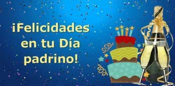 Tarjetas De Feliz Cumpleaños Para Un Padrino Alegre