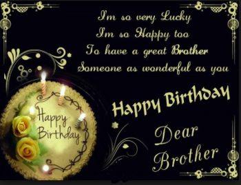 Tarjetas De Feliz Cumpleaños Para Un Hermano Grandioso