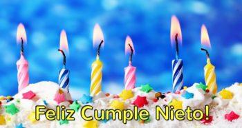 Tarjetas De Feliz Cumpleaños Para Un Nieto Adorable