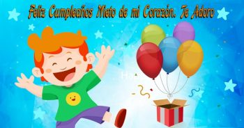 Tarjetas De Feliz Cumpleaños Para Un Nieto Alegre