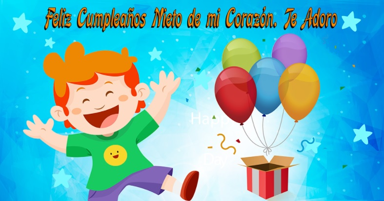 Tarjetas De Feliz Cumpleaños Para Un Nieto Portal De Feliz