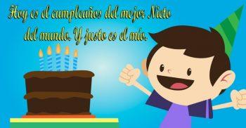 Tarjetas De Feliz Cumpleaños Para Un Nieto Divertido