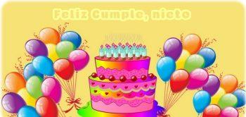 Tarjetas De Feliz Cumpleaños Para Un Nieto Precioso