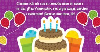 Tarjetas De Feliz Cumpleaños Para Un Tío Protector