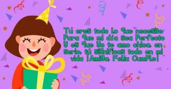 Frases De Feliz Cumpleaños Para Una Amiga Especial