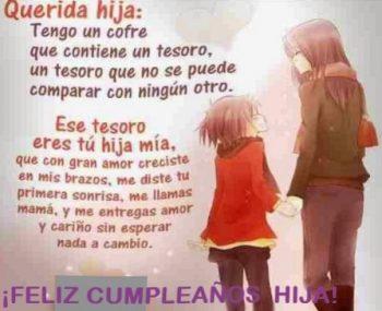 Frases De Feliz Cumpleaños Para Una Hija Cariñosa