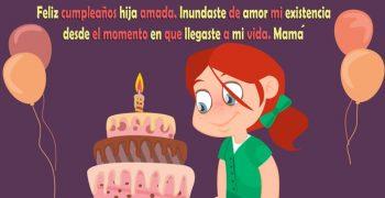 Frases De Feliz Cumpleaños Para Una Hija Encantadora
