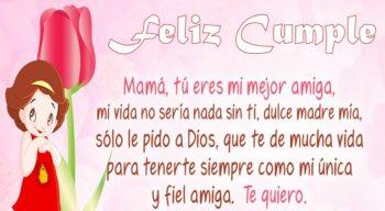 Frases De Feliz Cumpleaños Para Una Mamá Muy Amada