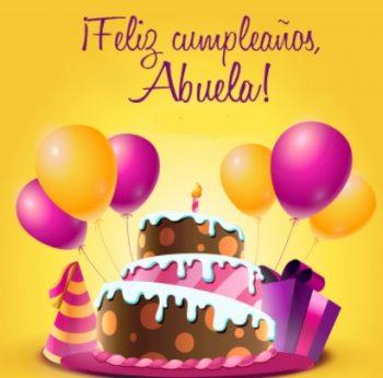 Tarjetas De Feliz Cumpleaños Para Una Abuela Dulce