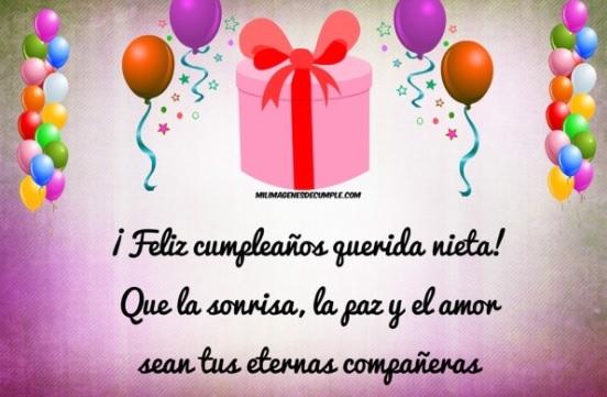 12 Bellas Tarjetas De Feliz Cumpleaños Para Una Nieta Portal De Feliz Cumpleaños