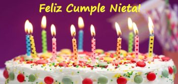 Tarjetas De Feliz Cumpleaños Para Una Nieta Lista