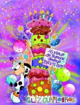 Tarjetas De Feliz Cumpleaños Para Una Prima Divertida