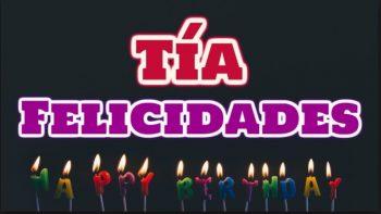 Tarjetas De Feliz Cumpleaños Para Una Tía Seria