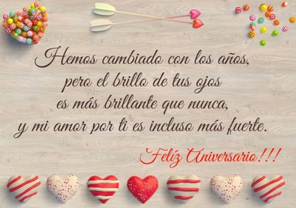 Las Más Tiernas Frases De Feliz Aniversario Para Un Amor