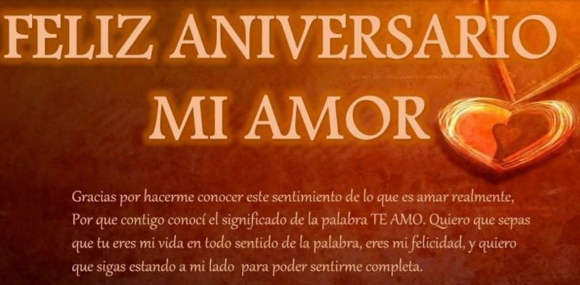 Feliz Aniversario Amor Frases: Las Más Tiernas Frases De Feliz Aniversario Para Un Amor