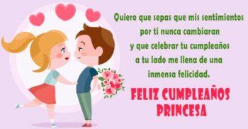 Frases De Feliz Cumpleaños Para Una Enamorada Encantadora