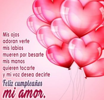 Frases De Feliz Cumpleaños Para Una Enamorada Linda