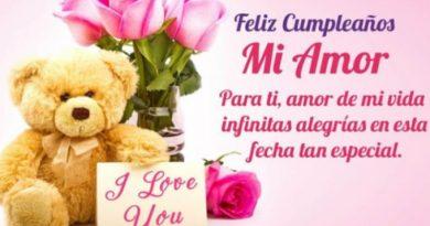 Frases De Feliz Cumpleaños Para Una Esposa Romántica