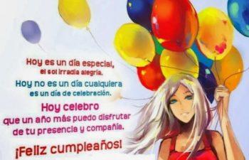 Frases De Feliz Cumpleaños Para Una Hermana Alegre