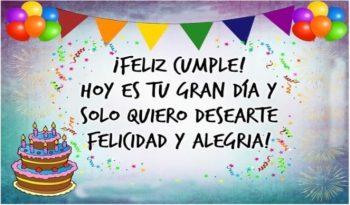 Imágenes Con Frases De Feliz Cumpleaños Para Una persona Genial