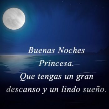 Imágenes De Buenas Noches Mi Princesa
