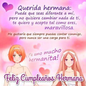 Mensajes De Feliz Cumpleaños Para Una Hermana Maravillosa