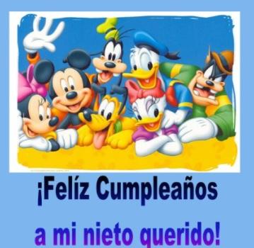 Tiernas Frases De Feliz Cumpleaños Para Un Nieto Portal De