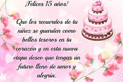 7 Sublimes Frases De Feliz 15 Años Portal De Feliz Cumpleaños