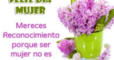 Tarjetas De Feliz Día De La Mujer Apasionada