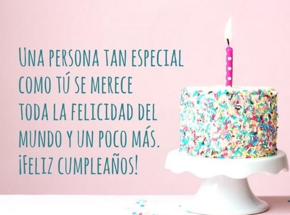 Feliz Cumpleaños Admirable Madrina