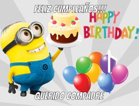 Feliz Cumpleaños Compadre Alegre