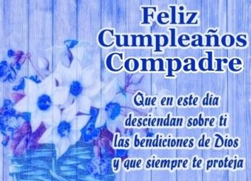 Feliz Cumpleaños Compadre Bondadoso