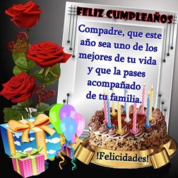 Feliz Cumpleaños Compadre Hogareño