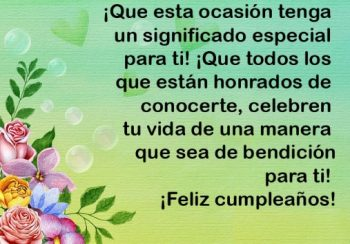 Feliz Cumpleaños Estimada Madrina