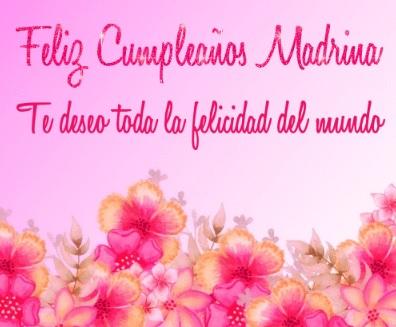Feliz Cumpleaños Exitosa Madrina