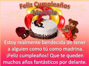 Feliz Cumpleaños Madrina Ejemplar