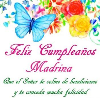 Feliz Cumpleaños Madrina Maravillosa