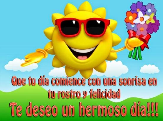Te deseo un bello día