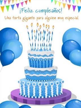 Feliz cumpleaños Sobrino Encantador