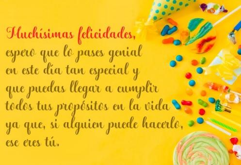 Feliz cumpleaños Sobrino Exitoso