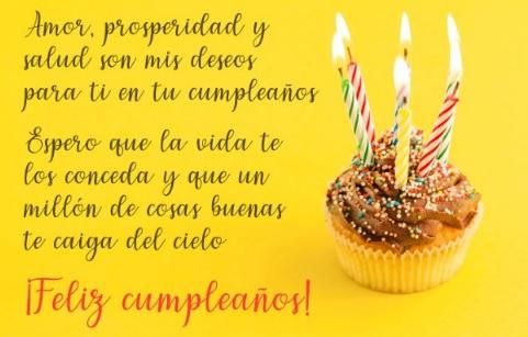 Feliz cumpleaños Sobrino Perseverante