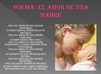 Las Más Bellas Imágenes que Expresan el Amor de Madre - poema amor de madre