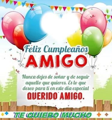 feliz cumpleaños apreciado amigo