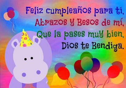 Feliz cumpleaños mi principe