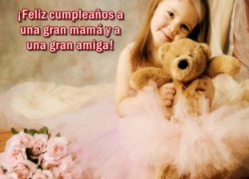 tarjetas de feliz cumpleaños para una madre y amiga
