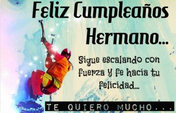 tarjetas de feliz cumpleaños para un hermano luchador
