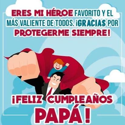 Frases De Feliz Cumpleaños Para Un Papá Genial